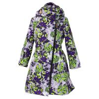 HUPPA coat LUISA 40g dark lilac rose pattern 1243BS16-643